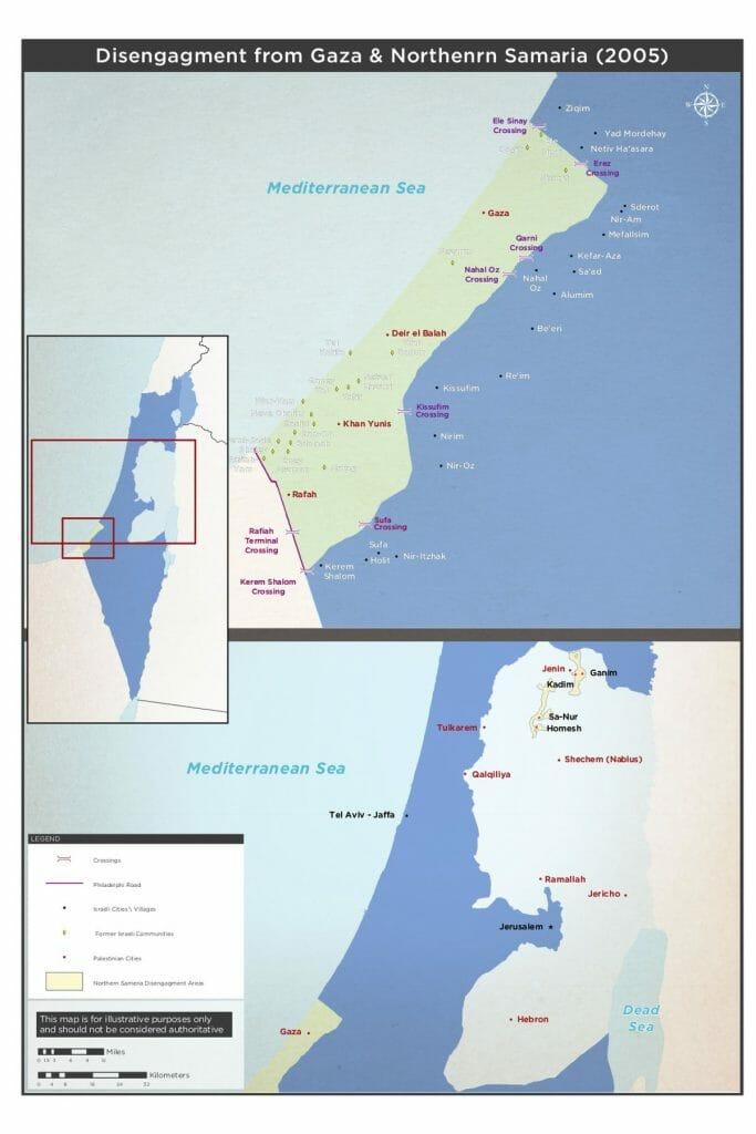 Einseitiger Rückzug Israels aus Gaza