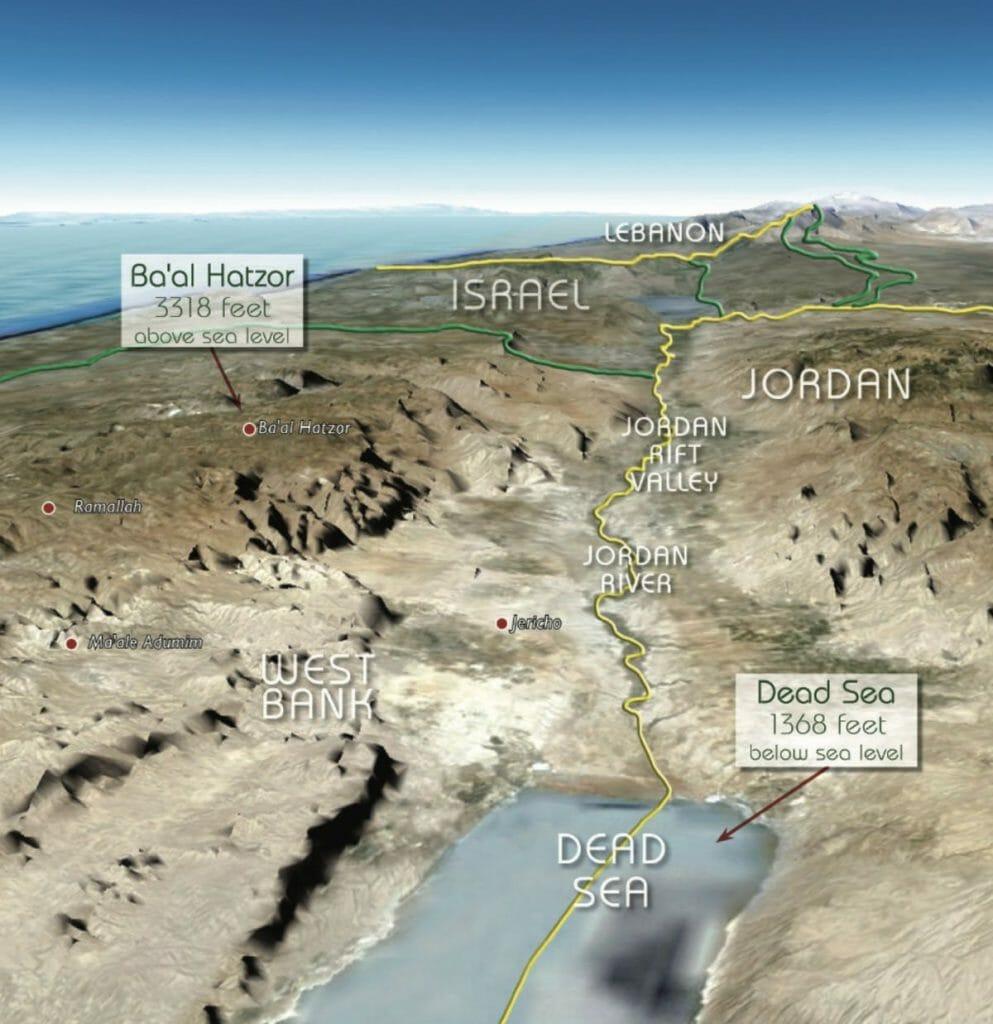 """Das Jordantal war auch von Rabin als """"Sicherheitsgrenze"""" vorgesehen"""