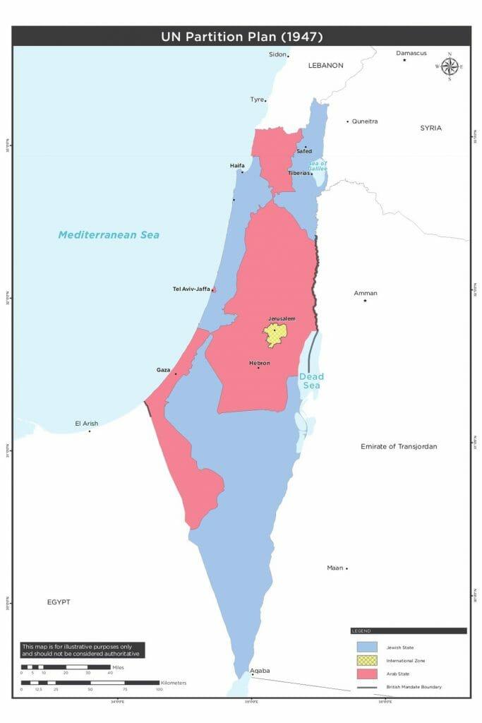 Der UN-Teilungsplan von 1947