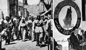 König Abdullah in Jerusalem 1949, König Hussein auf Palästina-Konferenz 1964