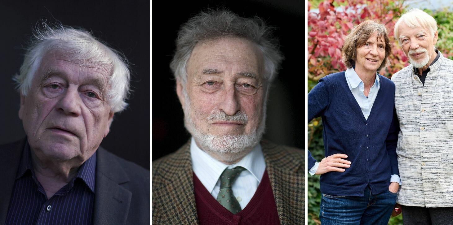 Vier der Unterzeichner des offenen Briefs: Wolfgang Benz, Micha Brumlik, Aleida und Jan Assmann