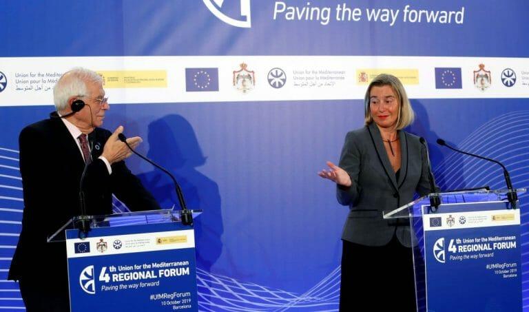 Josep Borrell und Federica Mogherini: Wieso findet die EU immer nur anti-israelische Außenkommissarinnen?