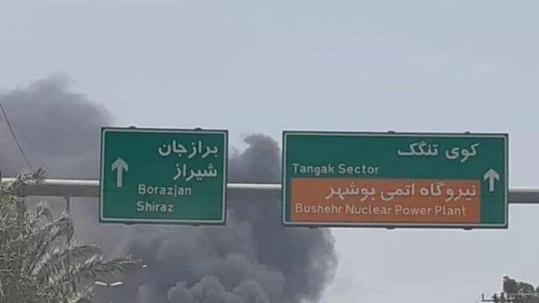 Im Hafen von Bushehr ereignete sich eine der Explosionen der letzen Wochen