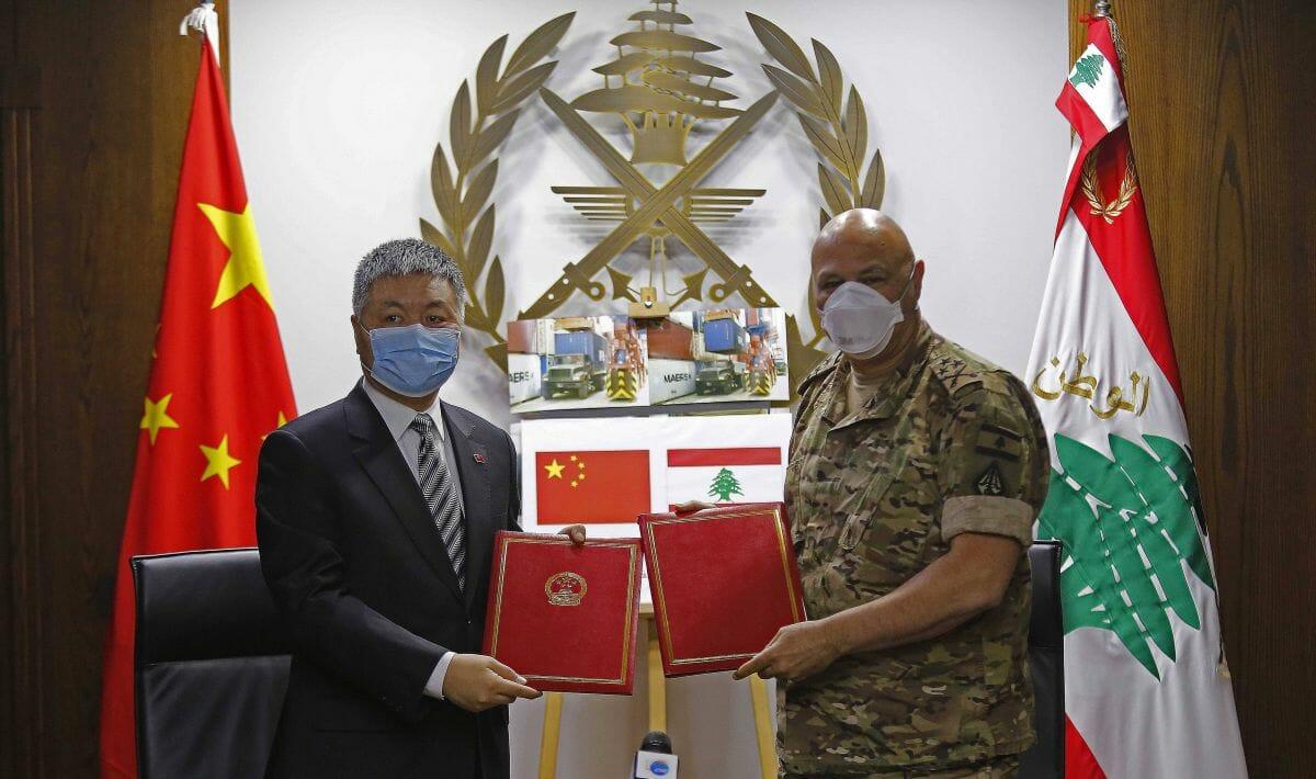 Bislang war das chinesische Engagement abseits von Corona-Hilfe im Libanon eher bescheiden