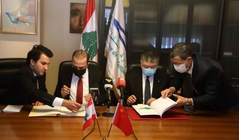Libanons Kulturminister und der chinesische Botschafter unterzeichnen ein Übereinkommen im Kulturbereich