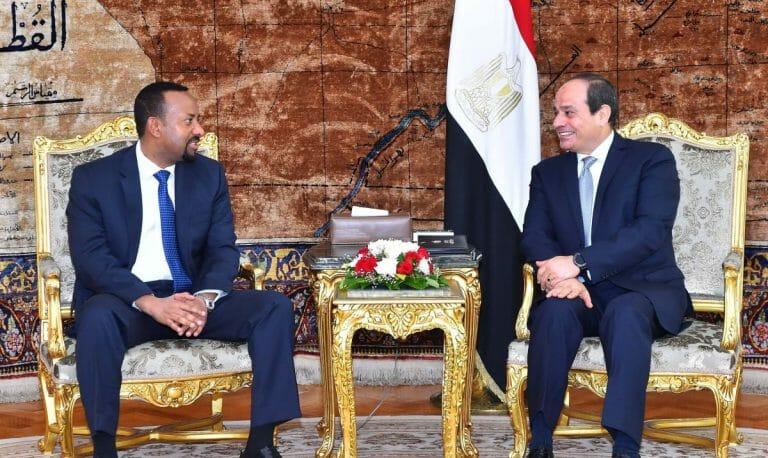 Treffen zwischen Äthiopiens Premierminister Abiy und Ägyptens Präsident al-Sisi blieben erfolglos