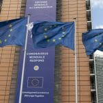 Das Gebäude der Europäischen Kommission in Brüssel