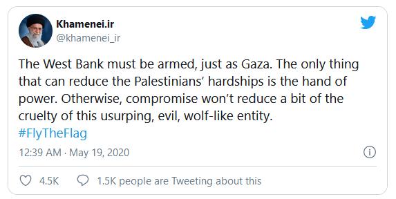 Aufrufe zur Vernichtung Israels? Für Twitter kein Problem