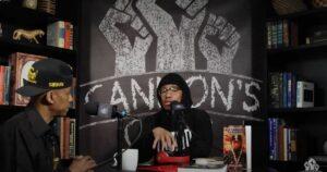 """TV-Moderator Nick Cannon und der Rapper """"Professor Griff"""" verteidigten in ihrem Podcast Louis Farrakhan"""