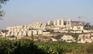 Jüdische Gemeinde im Siedlungsblock von Gush Etzion, auf den die israelische Souveränität ausgeweitet werden könnte