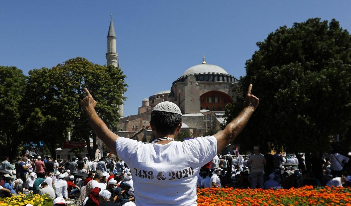 1453-2020: Islamisten stellen die Umwidmung der Hagia Sophia in eine Reihe mit der Eroberung Konstantinopels
