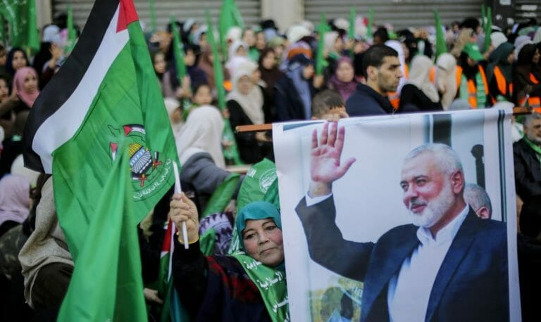 Der Hamas und ihrem Führer Ismail Haniyeh ist Terror wichtiger als Wirtschaftshilfe