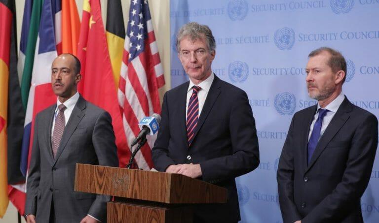 Der deutsche UN-Botschafter Christoph Heusgen fiel wieder einmal durch zweifelhafte Vergleiche auf
