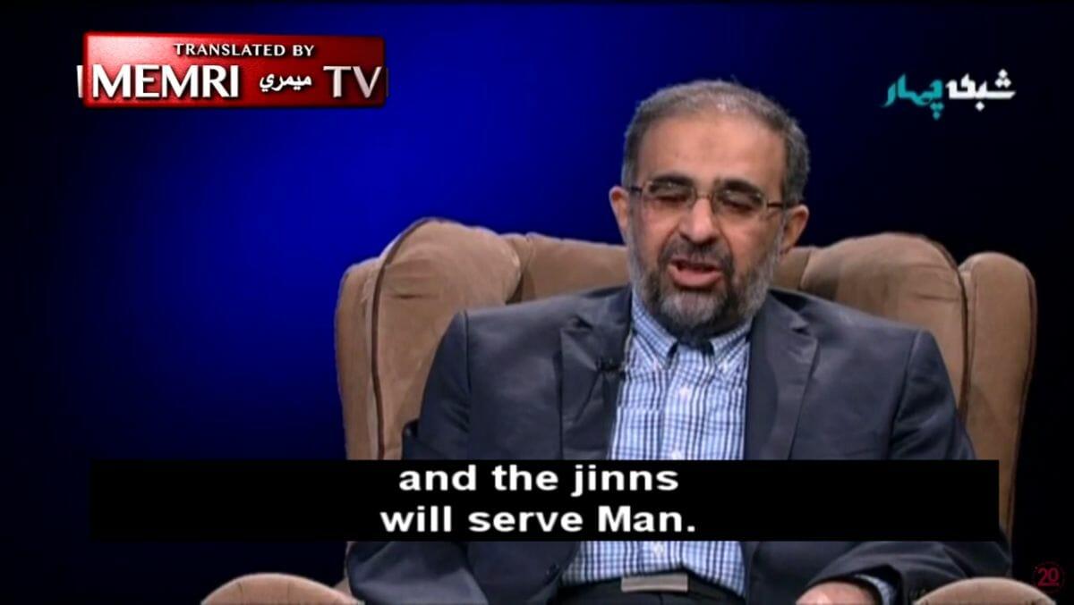 Laut Mohammad-Hadi Homayoun sei die Mondlandung eine Lügengeschichte