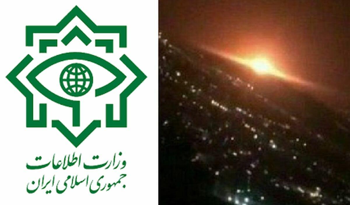 Iranisches Geheimdienstministerium, Explosion in Parchin