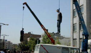 Öffentliche Hinrichtung in Teheran