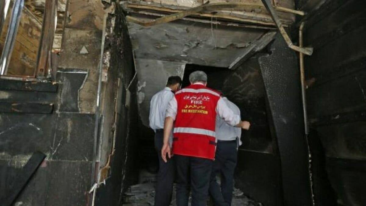 Explosion in der Fabrik Sepahan Bresh bei Teheran am 6. Juli 2020