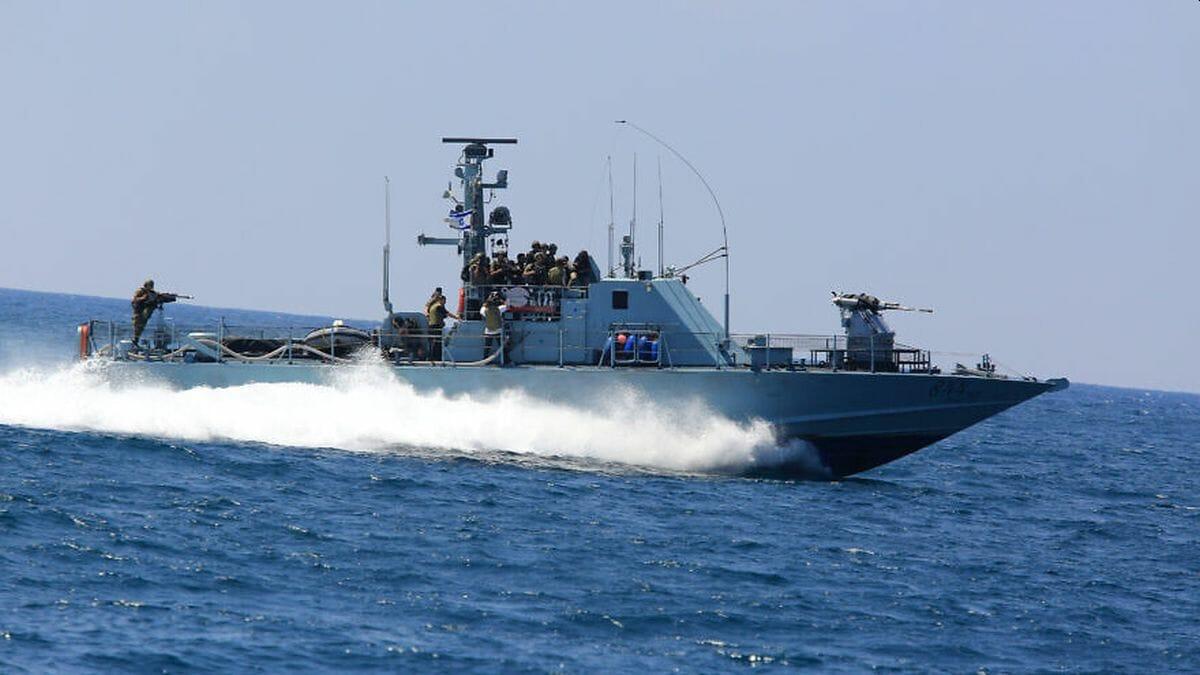 Schnellboot der israelischen Marine