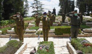 Entsprechen nicht der Opferrolle: Israelische Soldatinnen gedenken am Yom HaZikaron der Gefallenen
