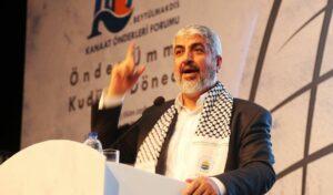 Der ehemalige Vorsitzende des Politbüros der Hamas Kahled Mashal