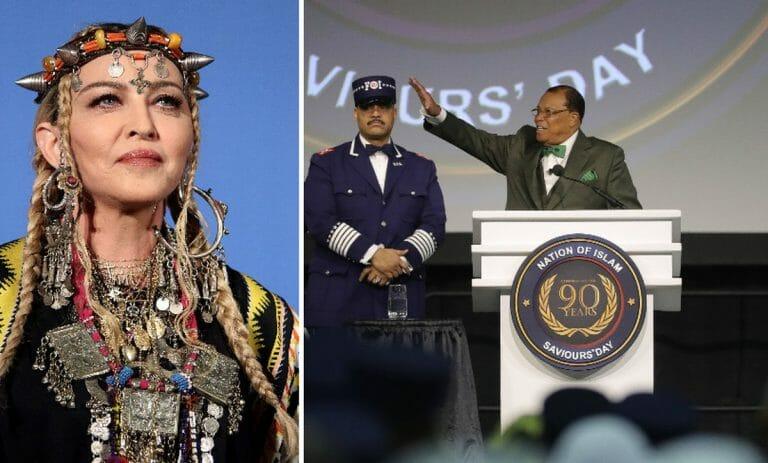 Madonna veröffentlicht Video des antisemitischen Nation-of-Islam-Führers Louis Farrakhan