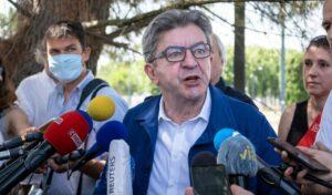 Der französische Linkspolitiker Jean-Luc Melenchon steht wegen antisemitischer Aussagen in der Kritik
