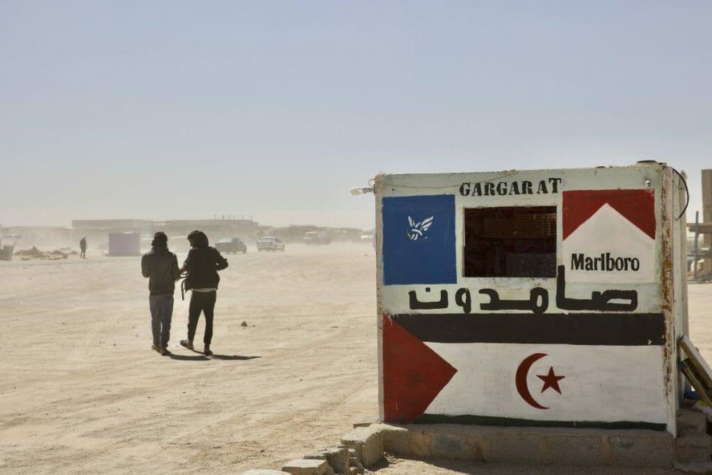 In algerischen Flüchtlingslagern leben ca. 165.000 sahaurische Flüchtlinge