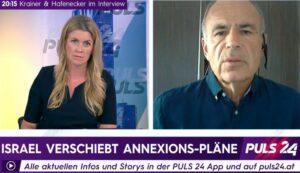 Ben Segenreich im Interview mit Puls 24 News