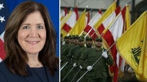 US-Botschafterin Shea äußerte sich kritisch über die Rolle der Hisbollah im Libanon