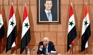 Syriens Außenminister erklärt auf einer Pressekonferenz, dass die US-Sanktionen Assad nicht stürzen werden
