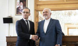 Deutschlands Außenminister Maas und sein iranischer Amtskollege Zarif