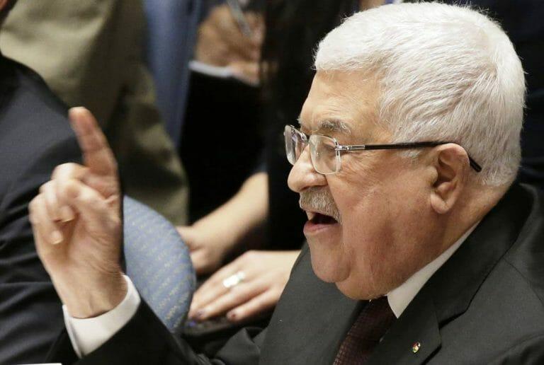 Mahmud Abbas und die angeblich moderate Palästinenserführung wettern gegen den Frieden zwischen Israel und den VAE. (imago images/UPI Photo)