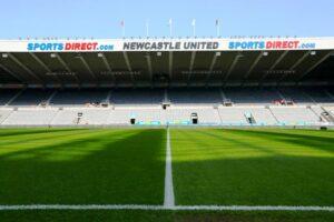 Im St. James Park, dem Stadion von Newcastle United, wird es wohl keine Eigentümerloge für den saudischen Kronprinzen geben. (imago images/PA Images)