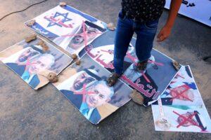 Die Palästinenser führen einen Kampagne gegen den Frieden. (imago images/ZUMA Wire)