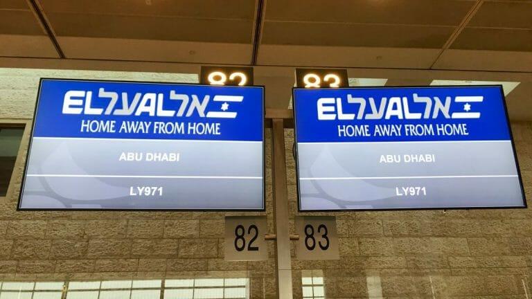 Heute findet der erste kommerzielle Flug zwischen Israel und den VAE statt