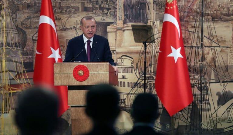 Am 21. August verkündet Präsident Erdogan die größten Erdgasfunde in der türkischen Geschichte
