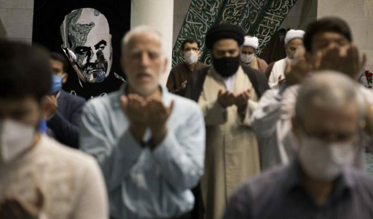 68% Prozent der Iran finden, Religion dürfe keine Grundlage der Gesetzgebung sein