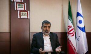 Der Sprecher der iranischen Atomenergiebehörde Behrouz Kamalvandi