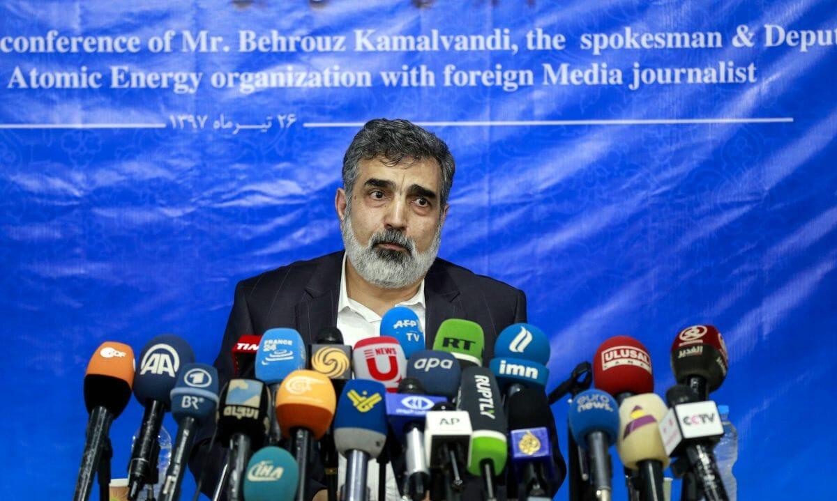 Der Sprecher der iranischen Atomenergieorganisation Behrouz Kamalvandi