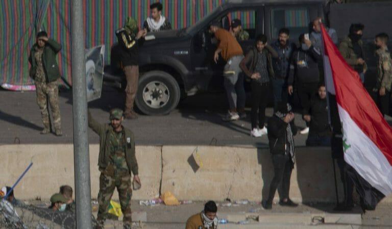 Mitglieder der Ktaib Hisbollah in Bagdad
