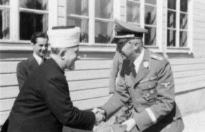 Der Mufti von Jerusalem Amin el-Husseini mit SS-Führer Heinrich Himmler