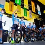 Vorstellung des Teams Israel Start-Up Nation mit André Greipel bei der Tour de France 2020. (imago images/Panoramic International)