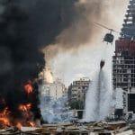 In Beirut explodierte jenes Ammoniumnitrat, dass die Hisbollah auch in Lagern in ganz Europa versteckt