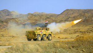 Die ägyptische Armee ging im August gegen islamistische Terroristen auf der Sinai-Halbinsel vor