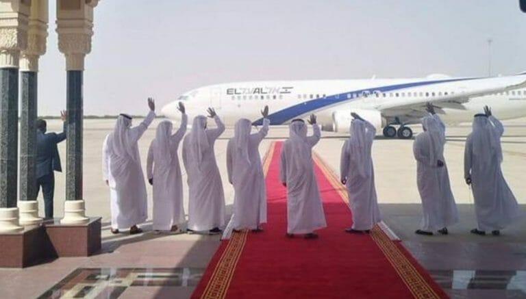 Scheichs der VAE verabschieden die israelische und US-Delegation in Abu Dhabi