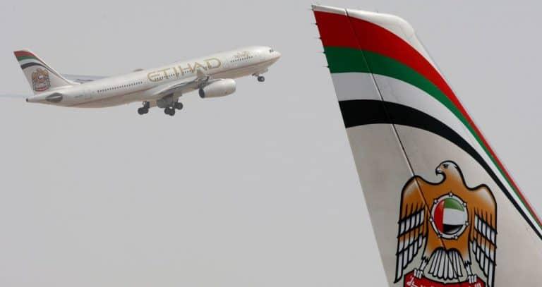 Der kürzliche aufgehobene Israelboykott der VAE galt auch für die Fluglinie Etihad