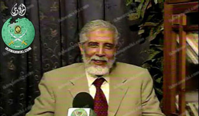 Der amtierende Führer der ägyptischen Muslimbruderschaft Mahmoud Ezzat
