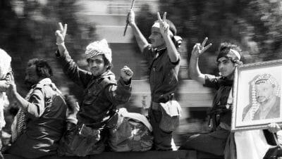 Kämpfer der Fatah in Beirut