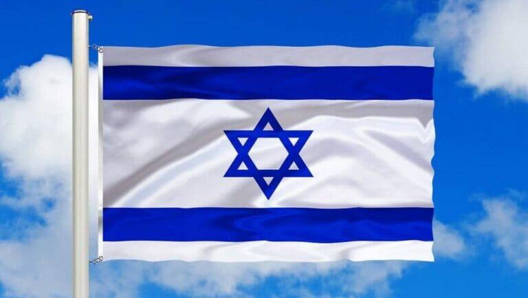 Die israelische Flagge