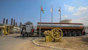 Infolge des Waffenstillstands nahm Israel die Lieferung von Waren und Treibstoff nach Gaza wieder auf